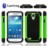New arrival for samsung galaxy s4 mini case, 3 in1 ballistic combo case for samsung galaxy s4 mini