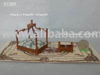 1:12 scale of doll house pet bed
