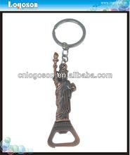 Journey Collection Zinc Alloy Metal Human Shape Bottle Opener Key Chain