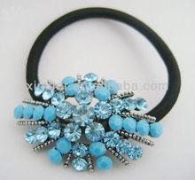 Fashion rhinestone elastic hair band