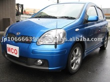 2004 Toyota Vitz RS, 3door, Hatch Back, steering:Right Used cars
