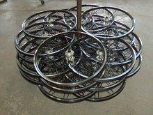 Bike aluminium wheel