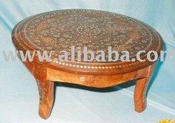 ROUND TABLE CHOWKI