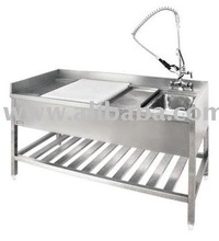 Fish & Chicken Preparation Table (Catering Equipment)