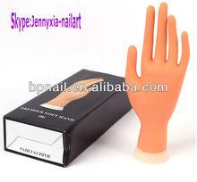 Nail art training hand