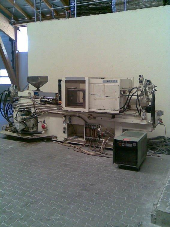 krauss maffei injection machine