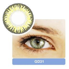 cosmetics contact lens products, buy Gold color cosmetics contact lens