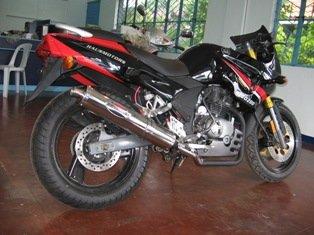 HAUSMOTORS motorcycle
