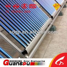 split solar water heater pressurized solar vacuum tube collector