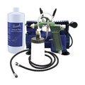 una rápida aplicación de bronceado spray sistema