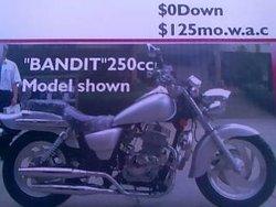 250cc chopper Motorcycle