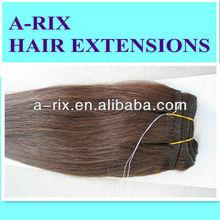 Coiffure produits bon marché et de haute qualité 100 des extensions de cheveux humains