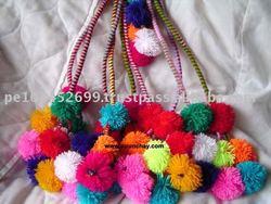 Andean Typical Pom Pom Craft Peru