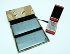 Solar batteries and recharges for mobile phones and notebooks