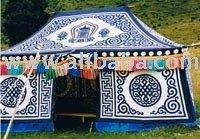 Tibetan tents