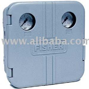 Fisher 4150/4160 serie controlador neumático - remanufacturados