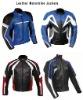 leather motorcycle jacket/leather biker jacket