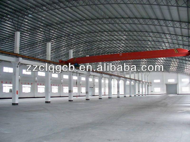 Long Span Prefabricated Steel