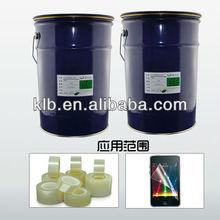 optical transparent silicon adhesive for films liquid silicone mastic sealant