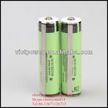 Panasonic NCR18650B 3400mah li-ion 3.7v Rechargeable battery cells high quality protected 3400mah for led light