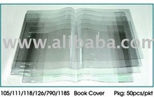 SCHOOL PVC CLEAR BOOK COVER