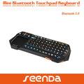 di alta qualità mini wireless spagnolo tastiera con touchpad