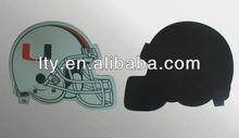 helmet design paper fridge magnet for boys(M-C08)