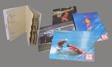 School folders, cardboard file holder