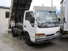 Used japanese cars ISUZU ELF Dump truck / Stearing:right / 135,000km