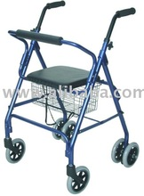 Rollator Walker with seat and wheels
