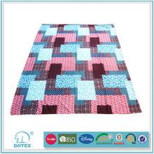 2012 popular soft and warm microfibre blanket 100 fleece blanket polyester