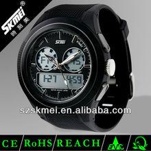 2013 Dual time plastic analog digital watch model number