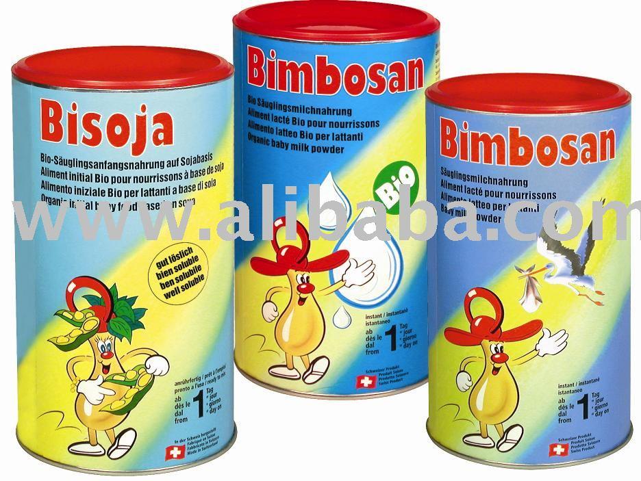 Suisse organique du lait en poudre de bébé de Bimbosan 100% fait