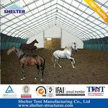 Guangzhou aluminum structure marquee field for horses tent anti bad weather