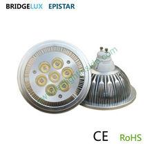 7w ar111 gu10 high power led lighting product