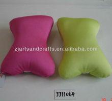 Microbeads stuffing cushion bone shape neck cushion