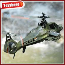 Rc helicóptero apache, 2.4g 4ch simples hélice de helicóptero