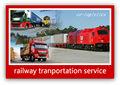 De mercancías de tren wagon a rusia