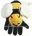 Le d241 Okul uzmanlık peluş arı Eldiven kuklası