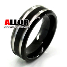 Fashion Stainelss Steel Shell Wedding Ring