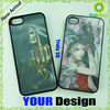 Characteristic 3D plastic case cover for mobile phone 4 4s 5, wholesale, phone accessories