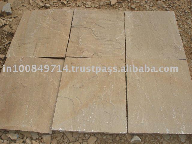 Lederfarbene brown sandstein fliesen sandstein produkt id for Sandstein fliesen