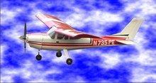 Cessna 182 Skylane 46 R/C Model