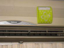 Air conditionning air purifier