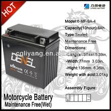 Maintenance Free Motorcycle battery,12V/12V9Ah(BPM12-9A)