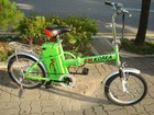 ELECTRIC BICYCLE, ROAD SWEEPER