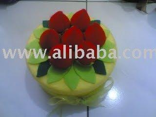 toples cake flanel