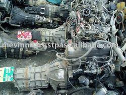 Used toyota car engine