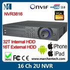 dahua NVR3816 2U NVR 16 channel for Dahua, Arecont Vision, AXIS, Bosch, Brickcom, Canon, Honeywell IP camera recording