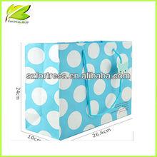 Dot paper bag